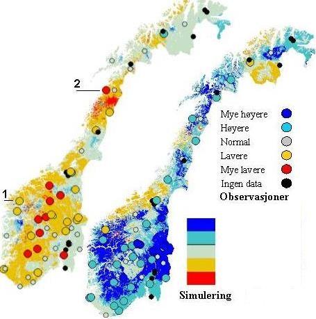 kart over vannkraftverk i norge Grunnvann i Norge   NVE kart over vannkraftverk i norge