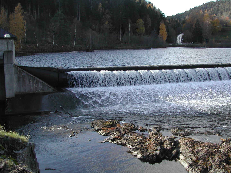 Kjeldal dam, Telemarkskanalen