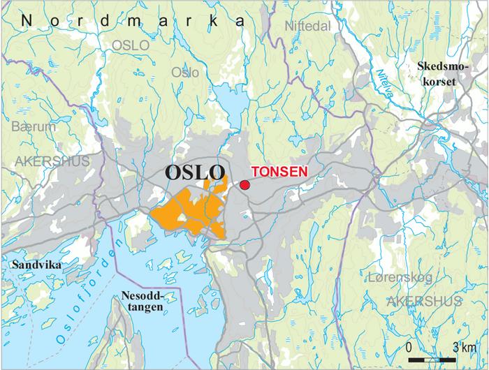 fjernvarme oslo kart Transformatorstasjon: Tonsen fjernvarme oslo kart