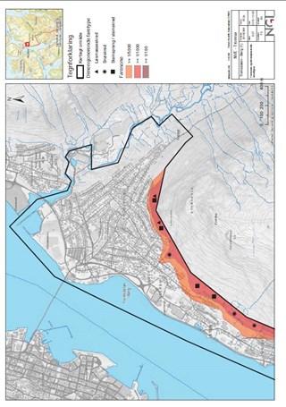 skredfare kart Skredfare kartlagt i Tromsø kommune   NVE skredfare kart