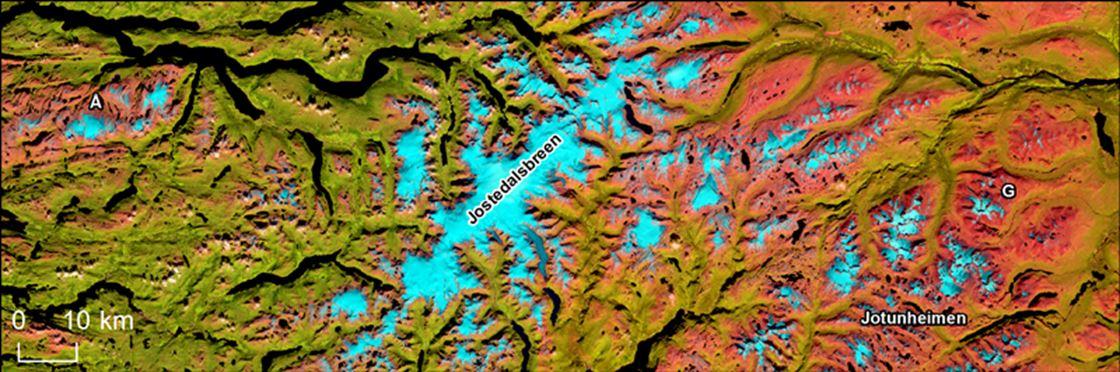 Fact sheet on Norwegian glaciers - NVE